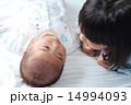 姉弟 女の子 赤ちゃんの写真 14994093