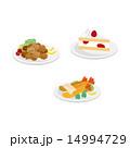 ベクター 食べ物 高カロリーのイラスト 14994729