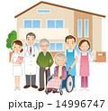 医者 老人ホーム 人物のイラスト 14996747