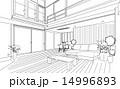 ベクター 部屋 家のイラスト 14996893