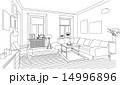 ベクター 部屋 家のイラスト 14996896