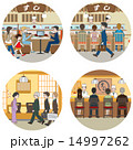 ビジネス / 食事を楽しむ人々 14997262