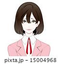 ビジネスウーマン スーツ 涙目のイラスト 15004968