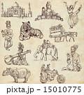図面 絵 手描きののイラスト 15010775