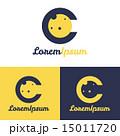 Vector minimalistic C letter space logo 15011720