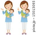 子育て 紹介 主婦のイラスト 15013093