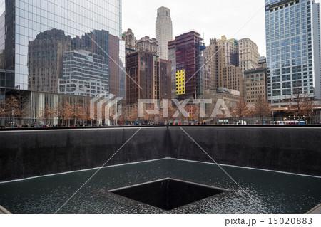 WTC Memorial Plaza, Manhattan, New York. 15020883
