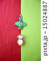 申年 門松 年賀状素材の写真 15024887