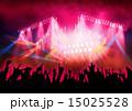コンサート ステージ 照明のイラスト 15025528