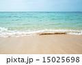 エメラルドグリーン 波打ち際 海の写真 15025698