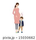 育児 マタニティ ベクターのイラスト 15030662