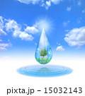 水滴の中のエコロジー風景 15032143