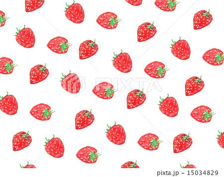 イチゴ 苺 いちご 果物 食べ物 デザート フルーツ スイーツ 甘い 美味しい おしゃれ ガーリー のイラスト素材