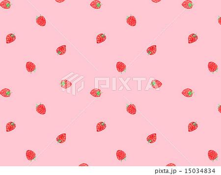 イチゴ 苺 いちご 果物 食べ物 フルーツ デザート スイーツ 甘い 美味しい 家庭菜園 おしゃれ のイラスト素材 15034834 Pixta