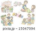 工務店イラストセット 15047094