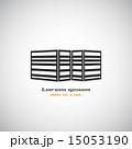 シンボルマーク 建築 ビルのイラスト 15053190