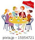 カフェでおしゃべりする女性達 15054721