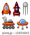 Spaceships Icons Set 15054843