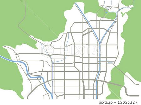 京都の略地図 15055327