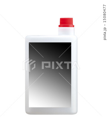 canister with engine oil on white backgroundの写真素材 [15080477] - PIXTA