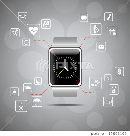 Smart watch wearable device concept 15091195