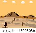 砂漠 サボテン 夕日 15093030