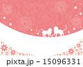 年賀状テンプレート(申年) 15096331