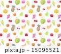 フルーツ 果物 食べ物 バナナ イチゴ メロン モモ ブドウ 葡萄 ぶどう グレープ マスカット パ 15096521