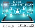 借金 債務 負債のイラスト 15101182