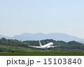 秋田空港 離陸 飛行機の写真 15103840