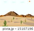 砂漠 サボテン 15107196