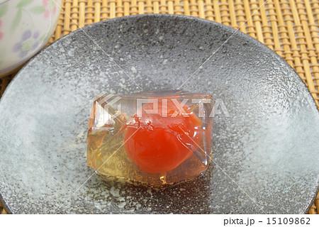和菓子 梅ゼリーの写真素材 [15109862] - PIXTA