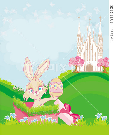 Little rabbit in gift box easter surprise present little rabbit in gift box easter surprise present negle Choice Image