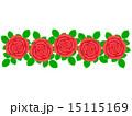 花柄 背景素材 柄のイラスト 15115169