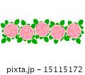 背景素材 柄 花柄のイラスト 15115172
