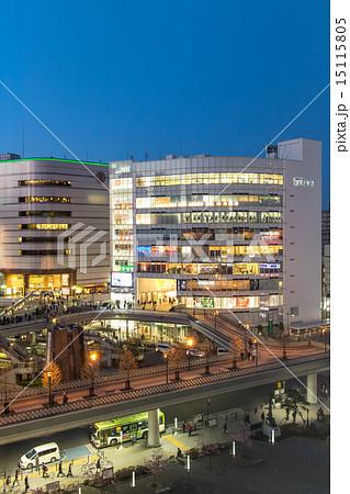 埼玉県川口駅 東口駅前広場 ロータリー 15115805