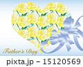 父の日 メッセージカード ベクターのイラスト 15120569