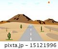 砂漠の道路 15121996