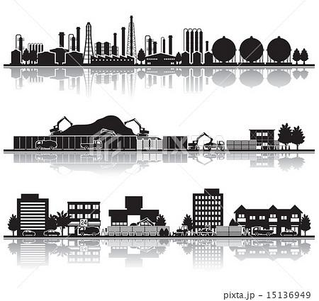 様々な都市 / 建設 15136949