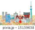 東京の町並み 15139638