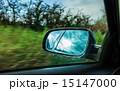 car on the road and rear view mirror 15147000