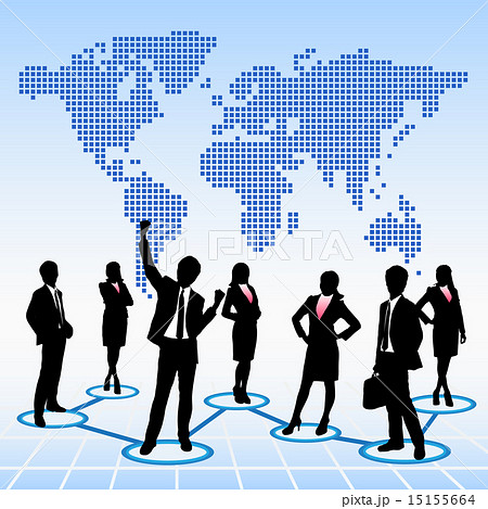 Global human resources concept 15155664