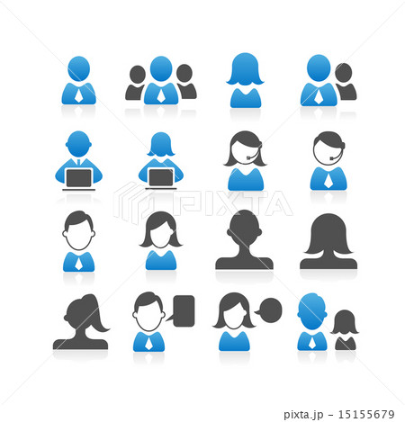 Business people icon 15155679