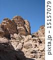 世界遺産ぺトラ遺跡 エドディルへの登山道 15157079
