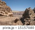 世界遺産ぺトラ遺跡 エドディルへの登山道 15157080