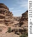 世界遺産ぺトラ遺跡 エドディルへの登山道 15157083