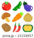 野菜 セットイラスト 15158957