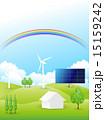 ソーラーパネル 太陽光発電 ベクターのイラスト 15159242