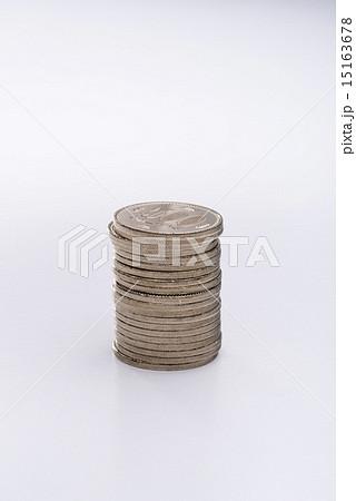 積み重ねた500円硬貨の写真素材 [15163678] - PIXTA