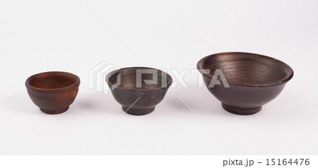 earthenware bowlsの写真素材 [15164476] - PIXTA
